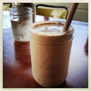 Short Order Chocolate Custard Milkshake