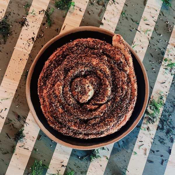 Tahini Bread - Tahini Roll
