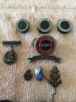 My Dad's Navy pins & buttons