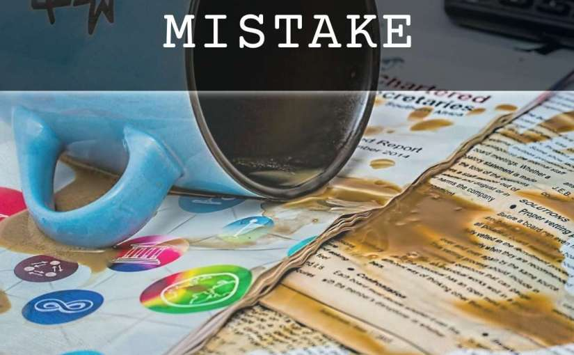 A Morning Mistake