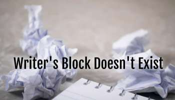 no writers block