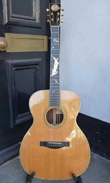 Douglas Adams left hand guitars collection for sale !