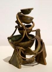Metrical Flight, 2001. Bronze, brass. 7 x 5 x 5 in.
