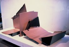 Slow Passage, 1985–87. Steel, paint 40 x 89 x 44 in.