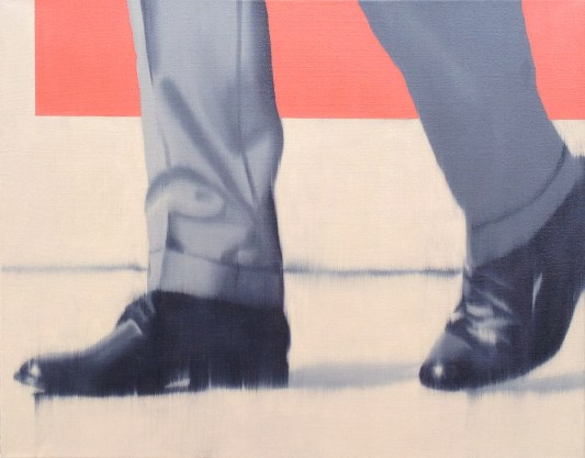 Dress Shoes Tan, Oil on canvas, 16 x 20
