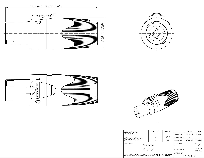 Firewire Cable Diagram