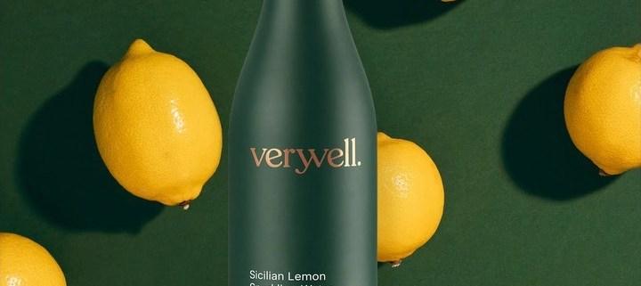 Sicilian Lemon Sparkling Water by Veryvell