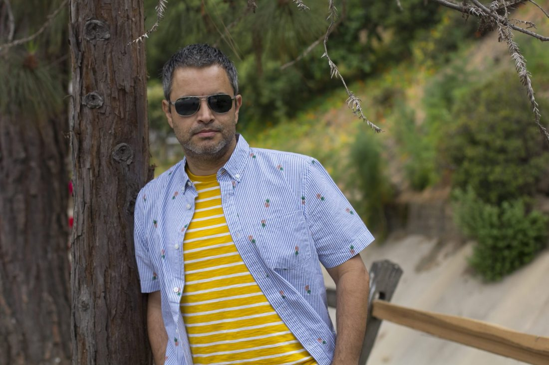 LA Male Bloggers Old Navy Style