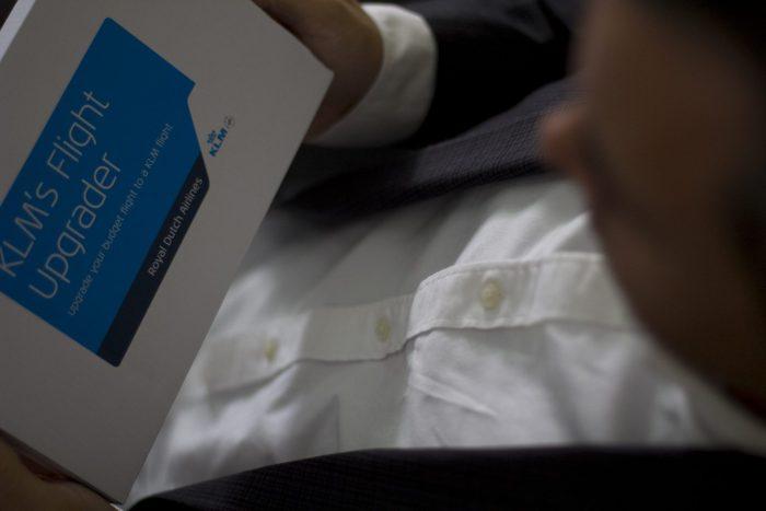 KLM Flight Upgrader box