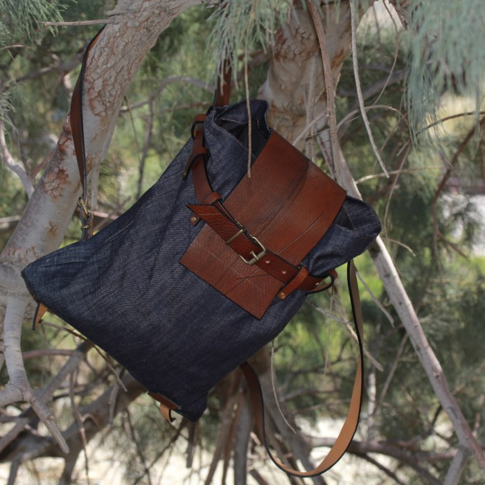 Festival season backpack for men