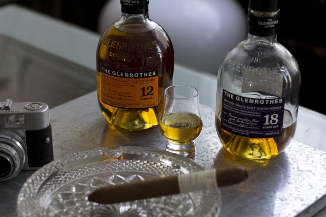 The Glenrothes 12 & 18 year old single malt whisky