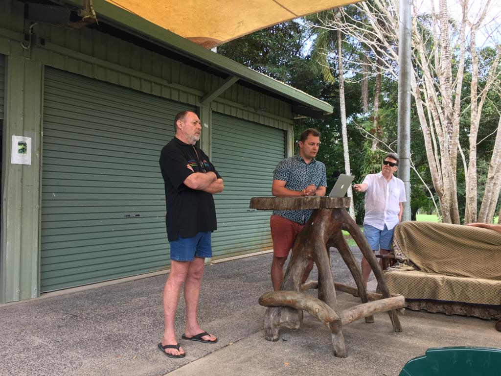 daintree microgrid power meeting
