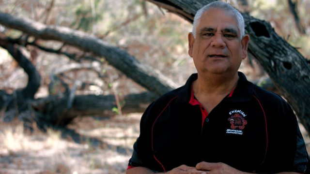 Chairman of the Ewamian Aboriginal Corporation, Ken Georgetown. Image Credit / Talaroo Hot Springs