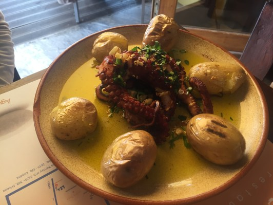 Mo' Grilled Octopus