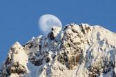 Moonset in Fiordland