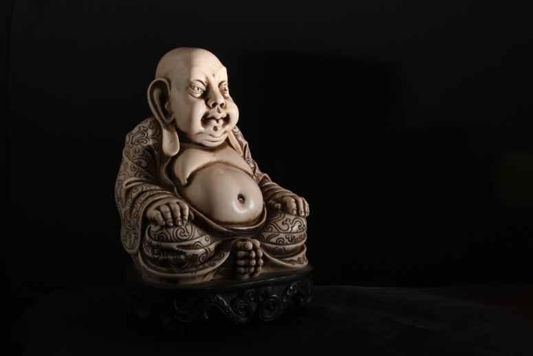 asian figure stone asia