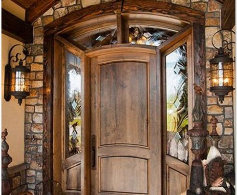 75 Inviting Rustic Entry Designs For This Winter