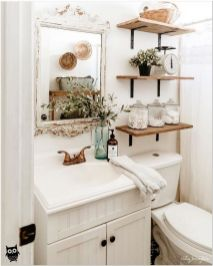 66 Small Bathroom Storage Ideas And Wall Storage Solutions 11