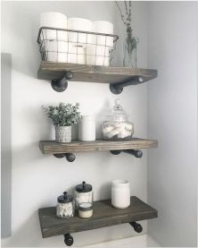 66 Small Bathroom Storage Ideas And Wall Storage Solutions 19