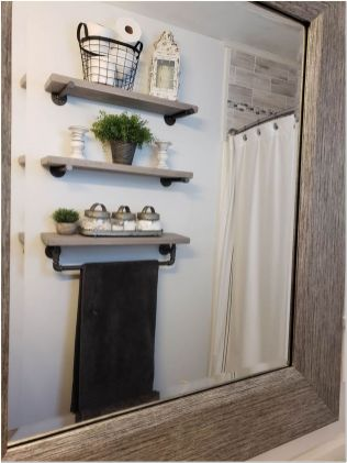 66 Small Bathroom Storage Ideas And Wall Storage Solutions 24