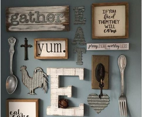 65 Inspirational DIY Rustic Home Decor Ideas