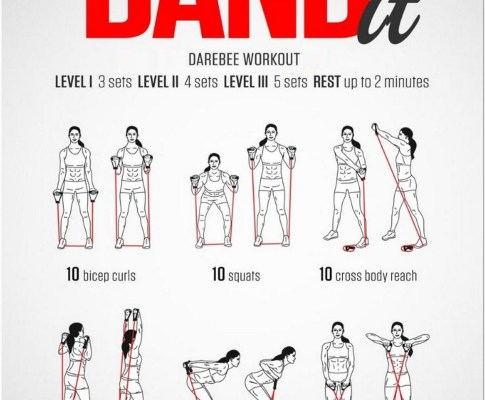 65 The Ultimate Resistance Band Workout Guide