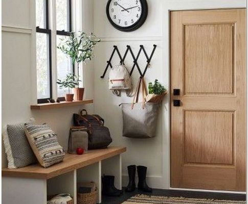 68 Simple & Affordable Fall Entryway