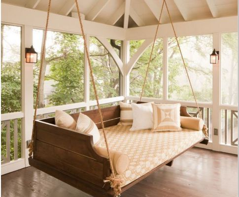 70 Rethink Your Outdoor Space by Channeling This Dreamy Porch Swing