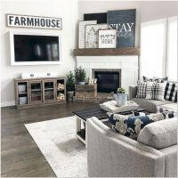 65 Farmhouse TV Stands Design - A Great Choice For Your Living Room