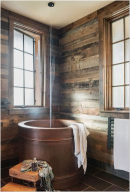 77 Tips On Using Bathtubs Sinking Tubs And Shower Tiles In Your Tiny House Bathroom Design 2