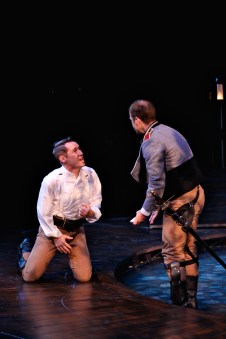 As Cassio in Othello with Christopher Gerson (Iago)