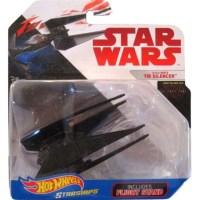 Star Wars Hot Wheels Starships – Kylo Ren's Tie Silencer Die-Cast