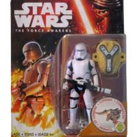 First Order Flametrooper The Force Awakens Basic 3.75 Action Figure