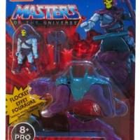 Masters of the Universe MEGA Construx Skeletor & Panthor (flocked) Pro Builders