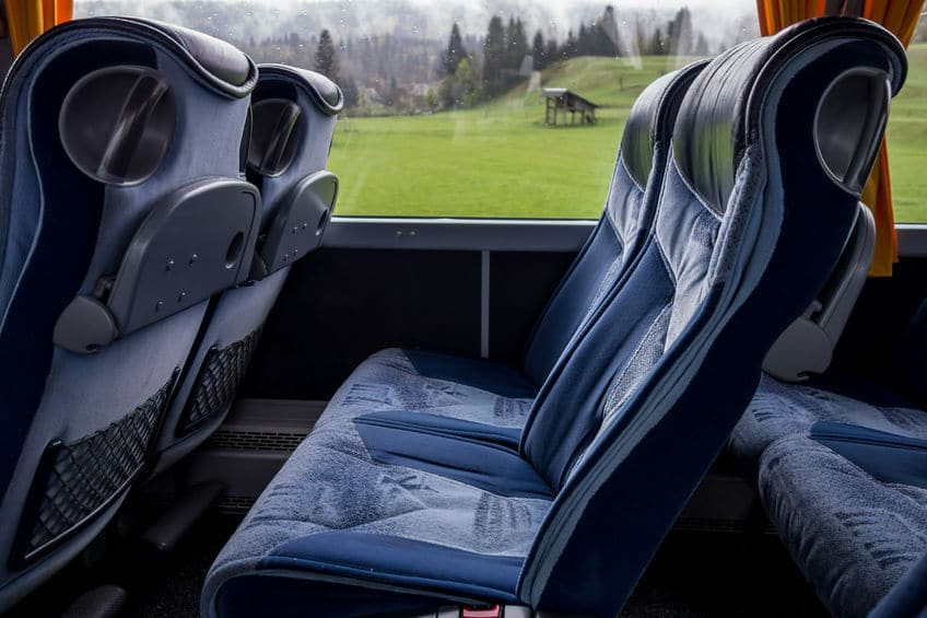 My seat on the bus