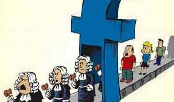 For the Judgment With Which Ye Facebook, Ye Shall Be Facebooked
