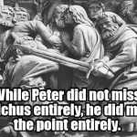 The Apostle Peter and Open Carry