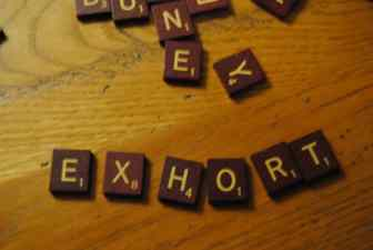 exhort