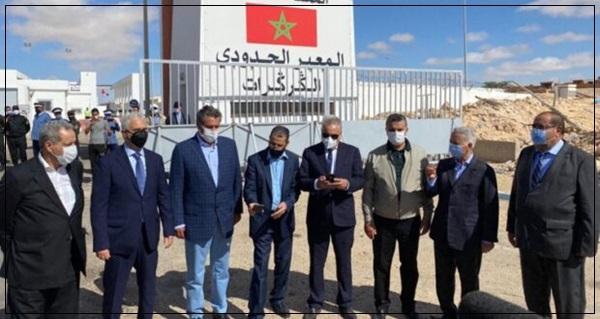 الكركرات:قادة الأحزاب السياسية الوطنية في بيان مشترك يشيدون بالتدبير الملكي الحكيم