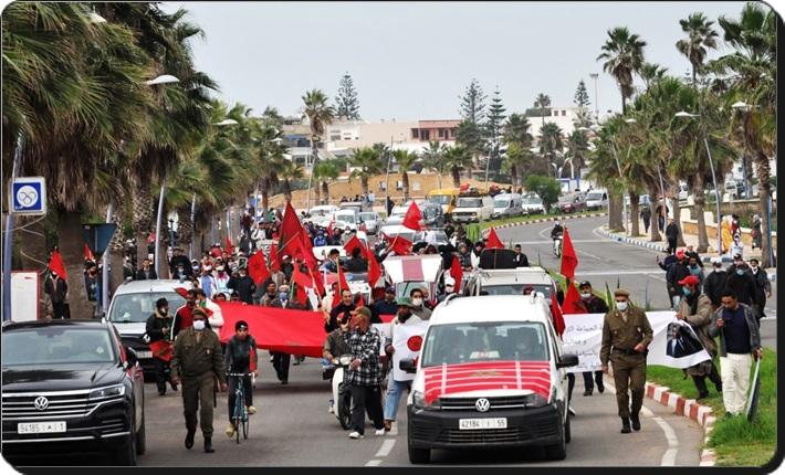 اعتراف أمريكا بالصحراء المغربة يخلق أجواء احتفالية بالوليدية