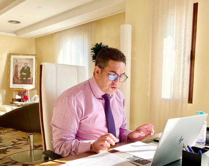 """السيد سعيد أمزازي يشارك في فعاليات إطلاق برنامج """" ClimOliveMed"""""""