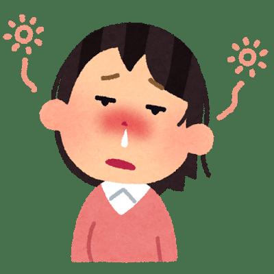 花粉症ボーっとする