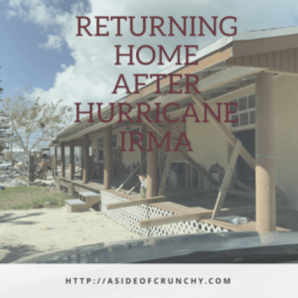 home destroyed after Hurricane Irma