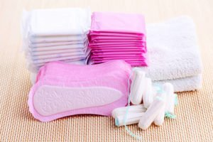 options for menstrual cycle when having the puberty talk