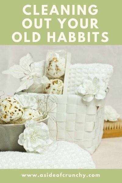 basket of natural and organic cleaning products