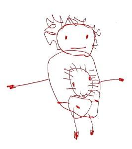 Bébé dessiné