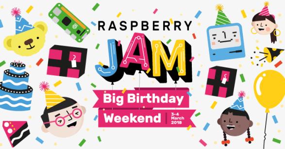 Raspberry pi Jam Camer