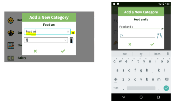 Xamarin Forms entry with character max length and counter demo