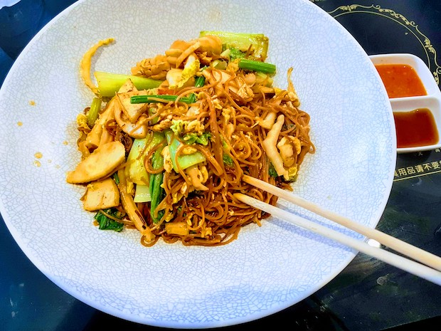 Signature Fried Mee Sua (Noodles & Seafood)