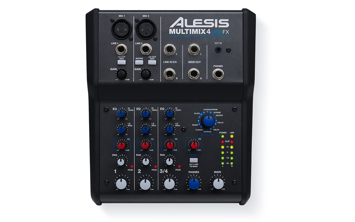 ALESIS MULTIMIX 4 USB FX 1